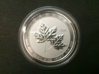 2020 Canada 2oz $10 Maple Leaf twin Leafs Silver Bullion Coin