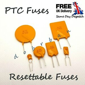 TYCO PTC Resettable Fuse Automatic Recovery Polyfuse Polyswitch Multifuse Break