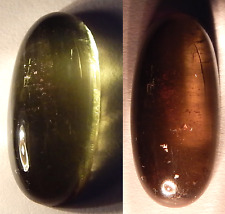 Color Change Andalusite 6ct Natural Untreated Green-Red Cats Eye 17x8 USA Seller