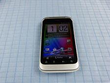 HTC Wildfire S Silber-Weiß.Gebraucht.Ohne Simlock! TOP! Einwandfrei #63