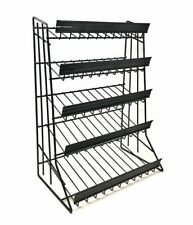 5 Tier Shelf Counter Top Candy Display Rack - Black
