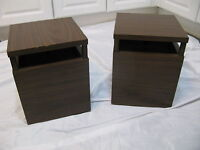 Vintage Mid Century Omnidirectional LMS1011 LMS 1011 Speakers Tested and Work
