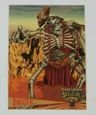 1995 Fleer Ultra Skeleton Warriors Promo Card Premier Edition DAGGER