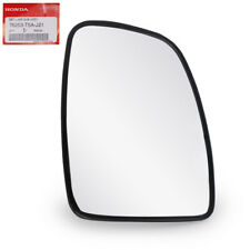 Fits Honda Jazz Fit Hatchback 2014 18 Lh Wing Side Mirror Glass Len With Base