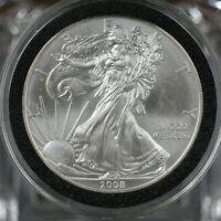 2008 American Eagle Walking Liberty 1oz Silver Bullion Dollar UNC    A-446