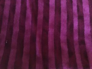 Timeless Treasures 1105 Cotton Fabric Purp Stripe 4.75 Yd Quilting Garments New