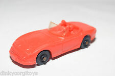 TOMTE LAERDAL VINYL 24 TOYOTA 2000 GT CABRIOLET RED EXCELLENT CONDITION.