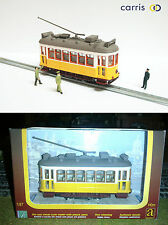 Yellow Lisbon Tram Diecast HO gauge - NO motorized NEW