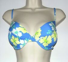 PARAWIN Swim Top Bikini Underwire PADDED Bra size 34D ~ SAMPLE imperfect