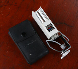 MINOLTA FLASH DUOFIT S AND CLAMP FOR MINOLTA 16 MODEL P/215981