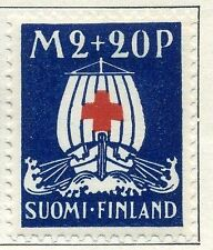 Finland Red Cross Stamps