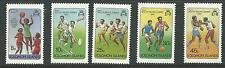 1981 Mini Pacific Games set of 5 complete MUH/MNH as issued