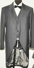 "NEW WITH TAGS GARY ANDERSON SAVILE ROW LIGHT GREY THREE PIECE MORNING SUIT 42"" R"