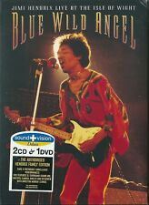 Jimi Hendrix. Blue Wild Angel - Live at the Isle of Wight (2003) 2CD+DVD NUOVO