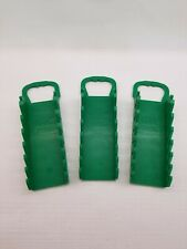 Sk Professional Tools Wrench Rack,7 Slot,Green lot of 3