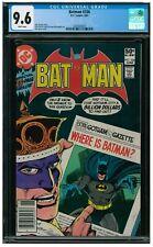Batman #336 (1981) Bronze Age DC Aparo Cover CGC 9.6 AA228