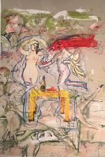 Rainer Gross  - Signed Lithograph - Summer Still Life (1980)