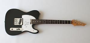 Celine Dion signed autographed guitar! Music Legend! RARE! PSA COA!
