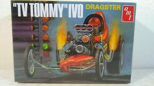 2009 AMT TV Tommy Ivo Front Engine Dragster 1:25 Scale Model Kit # 621