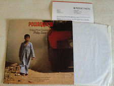 OST - Philip Glass - Powaqqatsi LP Nonesuch Records 1988 with Product Facts