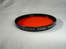 VIVITAR 52mm ORANGE ( O2 ) filter , Japan