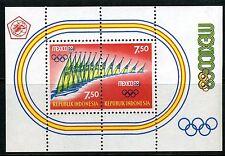 INDONESIE: ZB 626 MNH** Blok 12 1968 Olympische spelen in Mexico