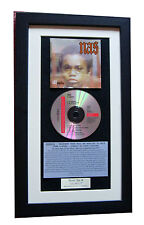 NAS Illmatic CLASSIC CD Album GALLERY QUALITY FRAMED+FAST GLOBAL SHIP+HIP HOP