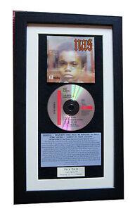 NAS Illmatic CLASSIC CD Album GALLERY QUALITY FRAMED+EXPRESS GLOBAL SHIP+HIP HOP