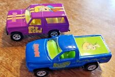 LOT OF 2 RACING CHAMPIONS SCOOBY-DOO FRED AND SHAGGY TRUCKS SET 9