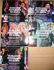 5 CD Box Melodifestivalen Eurovison Schweden Schlagerfestivalens 101 Bästa RAR