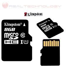 Memory card Micro-SD 8GB classe10 Memoria Flash SDC10G2/8GB