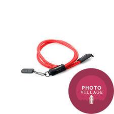 Black Label Bag Silk Cord Strap in Red Dot Red
