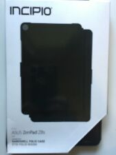 Incipio Hardshell Folio Protective Case Cover for Asus ZenPad Z8s - BLACK NEW