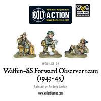 Warlord Games Bolt Action BNIB Waffen-SS Forward Observer Team WGB-LSS-02