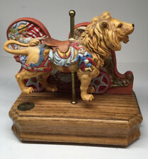 Vintage Willitts, Tobin Fraley, Signed. Carousel Lion. 1071/9500. 1985