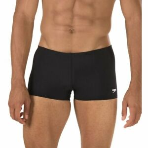 Men's Endurance Speedo Swim Trunk, BNWT, Competition, Training, 32, Black, $46