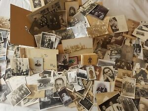 Fotos+PK Konvolut über100 Stück+Alben+Kabinettfotos,Heimat,Familie viel mehr org