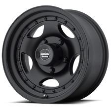 4 15 inch AR23 15x8 Black CLASSIC CHEVY 5 Lug RIMS 5x4.75 5x120.65
