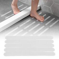 5pcs baignoire escalier transparent anti-dérapant antidérapant bande sécuritaire