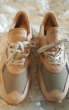 Greats The Pronto Nude Leather Sneaker, Italian Quality, Mens Size 12