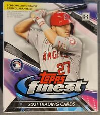 2021 Topps Finest Baseball Base & RCs - Complete Your Set - Updated Prices 6/7