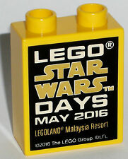 LEGO Legoland Star Wars Days May 2016 Malaysia collectors promo brick block NEW