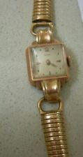 Antique gold Doxa Ladies Watche serial number 872823. Not Working