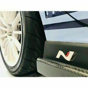 10 PACK i30N i30 N Veloster Epoxy 3D Sticker Decal for Hyundai