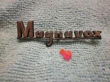 MAGNAVOX CONSOLE STEREO LOGO (NAME BADGE)