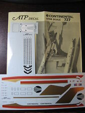 1/144 ATP DECALS BOEING 727 CONTINENTAL AIR MICRONESIA  DECALCOMANIE