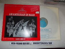 LP OST in American in Paris/Les Girls: selections (10) canzone MGM