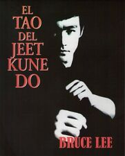 BRUCE LEE El Tao Del Jeet Kune Do BOOK