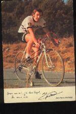 JEAN-PIERRE GUITARD cyclisme Signée PEUGEOT 70s autographe cycling ciclismo vélo