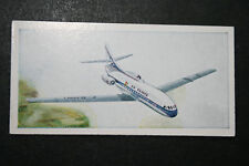 Air France   Sud Aviation Caravelle   Vintage Illustrated Card  VGC
